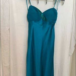 Teal Cache dress size 2
